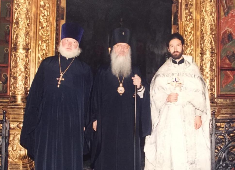 Рукоположение отца Иоанна Воробьева